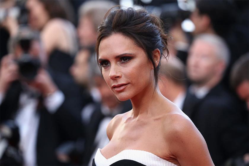 Victoria Beckham gash face insatgram