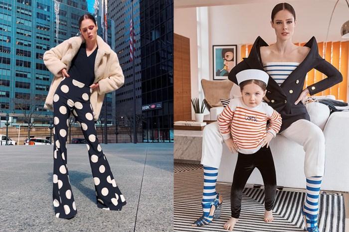 完美複製媽媽架勢:超模 Coco Rocha 的 4 歲女兒,小小年紀就繼承「Pose 女王」稱號!