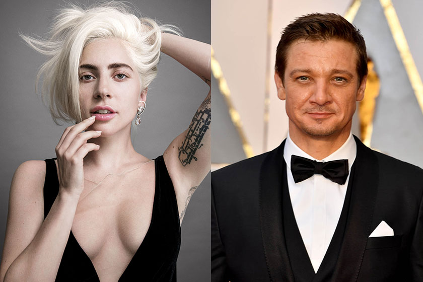 Lady Gaga is dating with Jeremy Renner