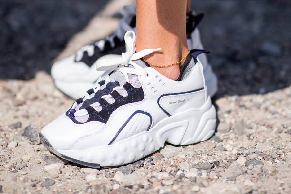 The white trainers everyone's buying this season