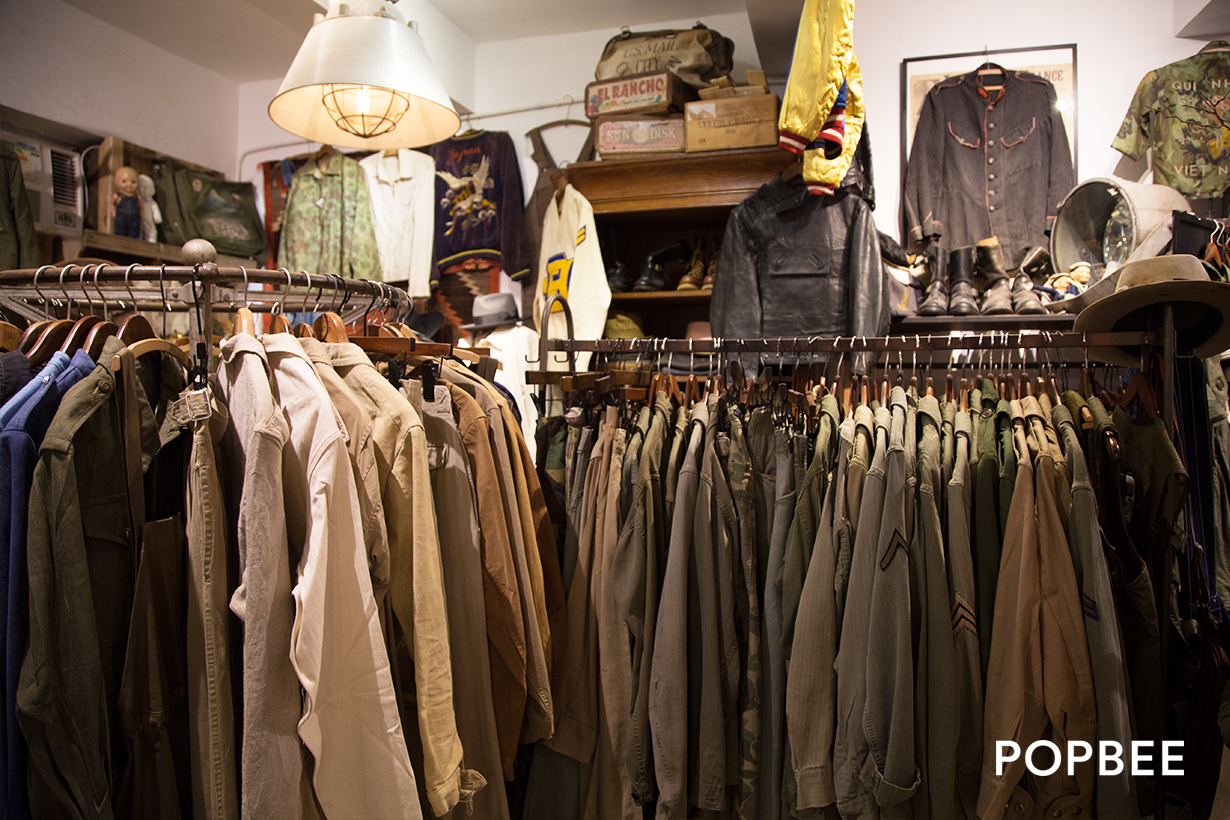 White Whale Company hong kong mong kok vintage shop  香港古著店