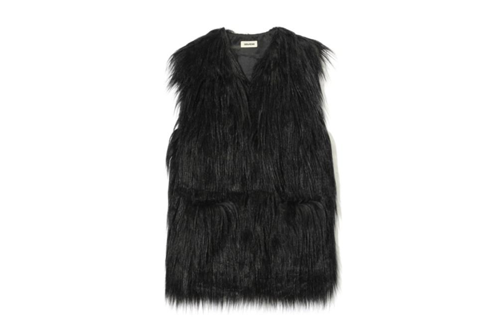 ZADIG & VOLTAIRE Fete Yeti Fluffy Vest