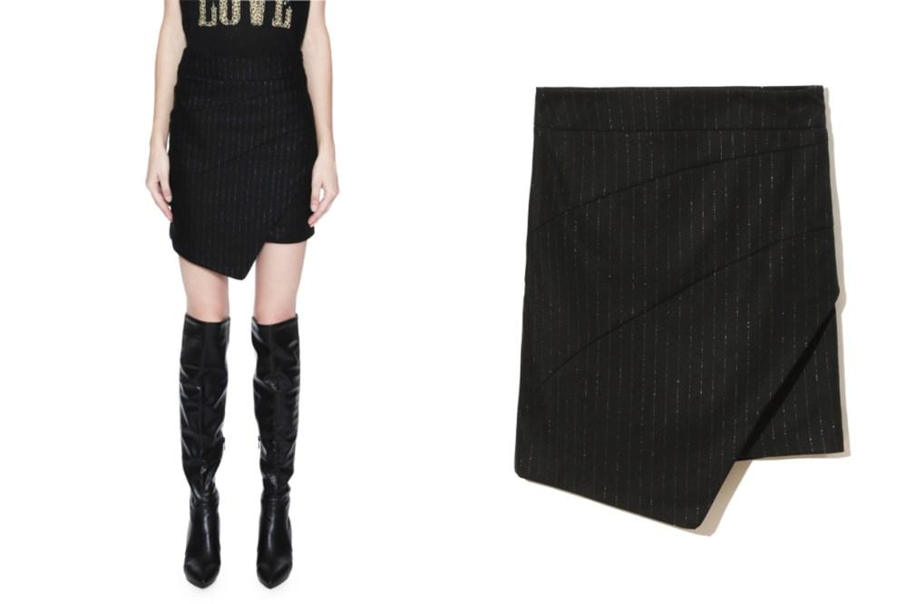 ZADIG & VOLTAIRE Just Pinstripe Skirt