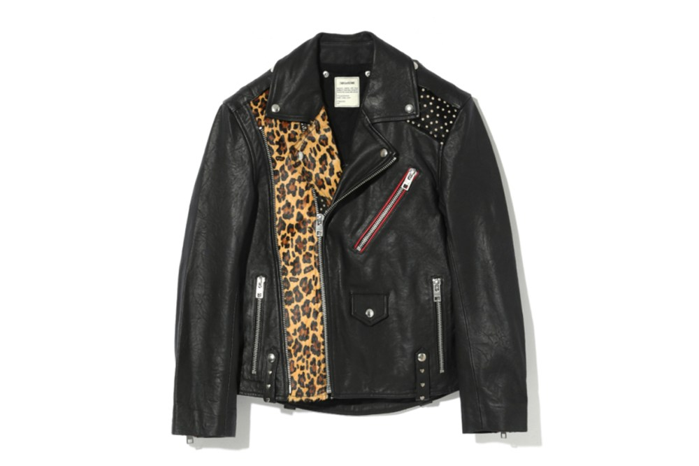 ZADIG & VOLTAIRE Liya Patch Leather Jacket