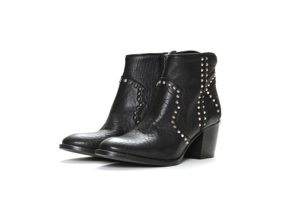 ZADIG & VOLTAIRE Molly Studded Leather Booties
