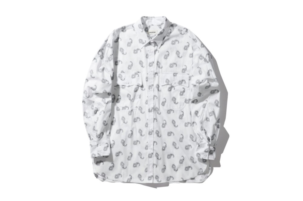 ZADIG & VOLTAIRE Tamara Skull Paisley Print Shirt