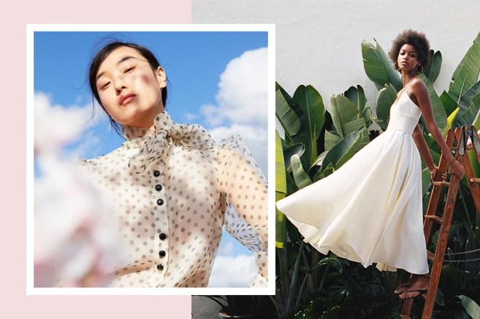 春天真的來了:那些飄逸又有氣質的裙子,Zara 已經為你準備好!