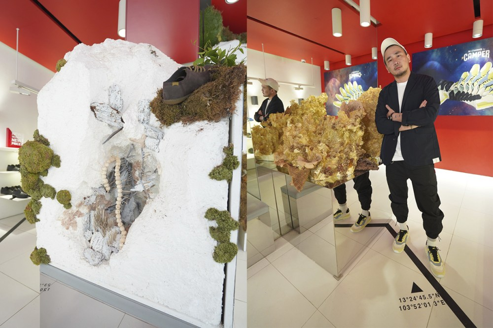 Taiwanese Artist Lee Chi Walk Artistry Exhibition