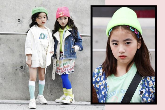 幾歲的時候你懂時尚麼?這些「小潮人」才是首爾時裝周街拍的亮點!