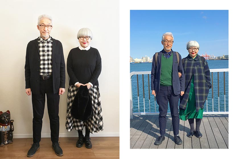 Japanese Fashion Couple BonPon Style Instagram
