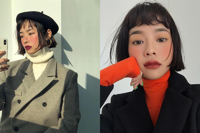 Korean Girl Blush Cheek Makeup Tips Colour
