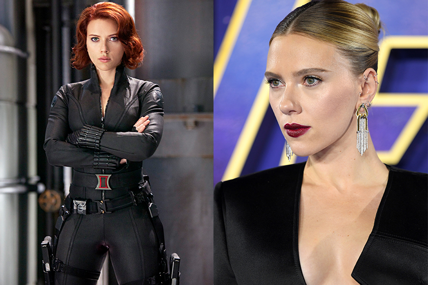 Black Widow Marvel Scarlett Johansson O.T.Fagbenle Rachel Weisz David Harbour