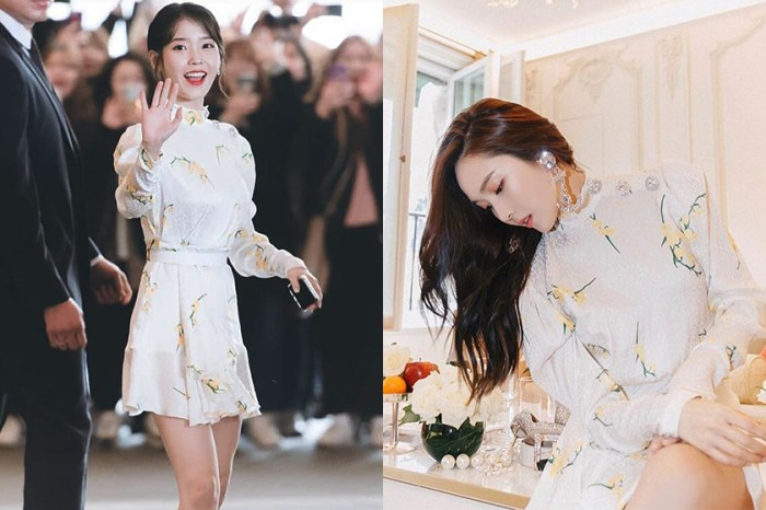 這件洋裝有什麼魅力,竟讓 IU、Irene、Jessica 三位女神都穿上它!