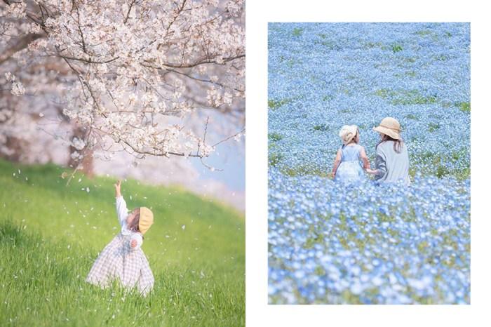 IG 打卡照比你還多!日本媽媽帶女兒踩點無數夢幻景色,拍下最美的一瞬間!