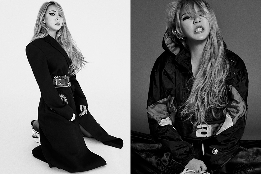 CL Lee Chae Lin Alexander Wang Vogue Korea Photoshoot