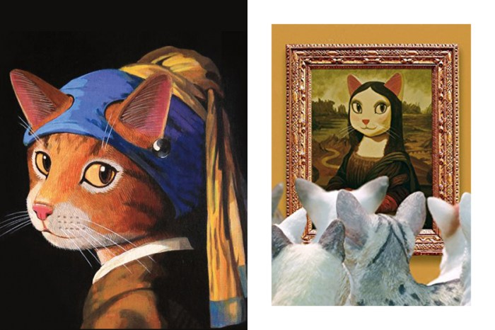 當世界名畫主角全變成「貓」會是什麼光景?這個展覽絕對適合貓奴!