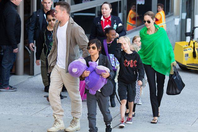 angelina-jolie Brad Pitt Divorce Heritage Maddox Chivan Jolie-Pitt