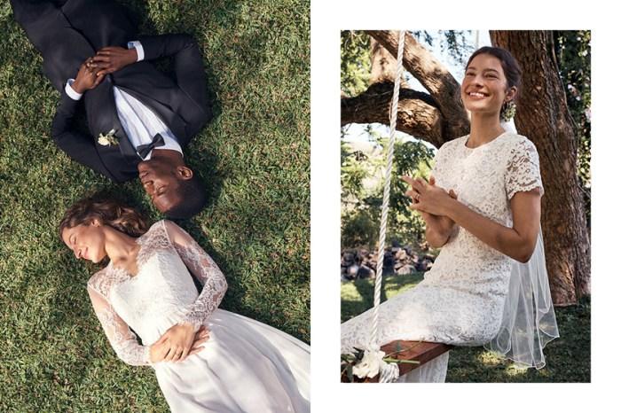 其中有極似凱特王妃婚禮款式!H&M 發表的平價高質婚紗令人無法抗拒!