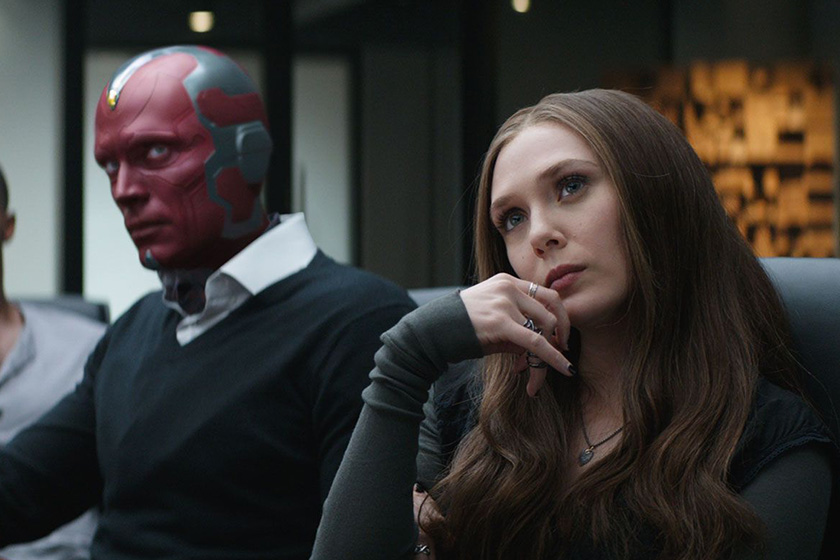 Avengers The Vision and Scarlet Witch Drama 2019 Marvel
