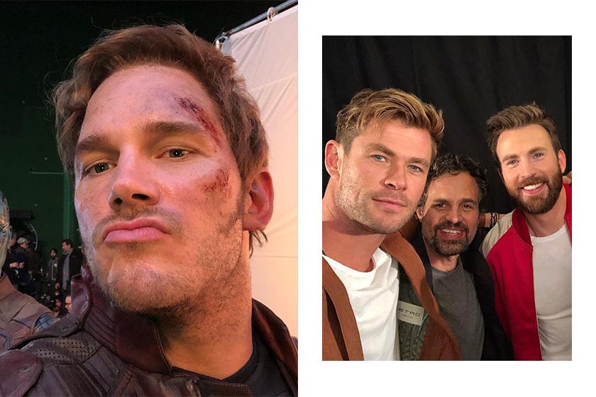 Chris Pratt Post Avengers 4 EndGame Behind the Scenes All Star Video
