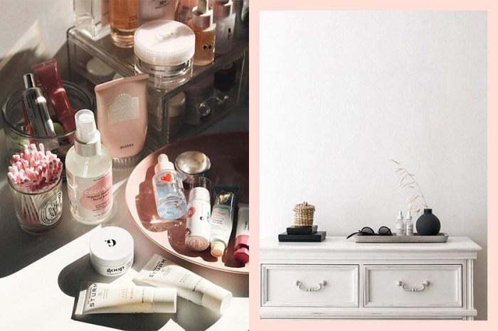 美妝品斷捨離!只有這些收納工具才能幫你完成任務!