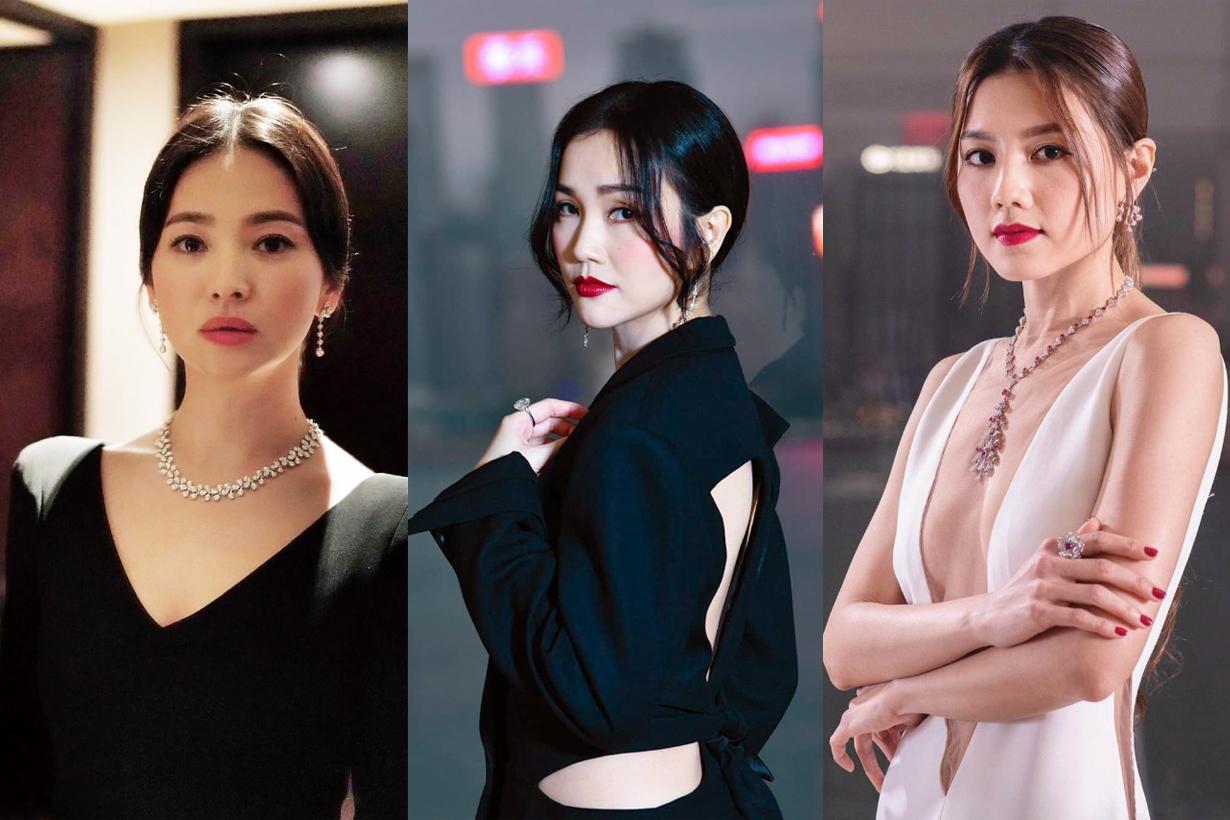 2019 Hong Kong Film Awards Red Carpets Celebrities Makeup Beauty looks Jennifer Yu Angela Yuen Cecilia So Charlene Choi Yeung Chin Wah Fiona Sit Song Hye Kyo Chrissy Chow Zeng Mei Hui Zi Janice Man
