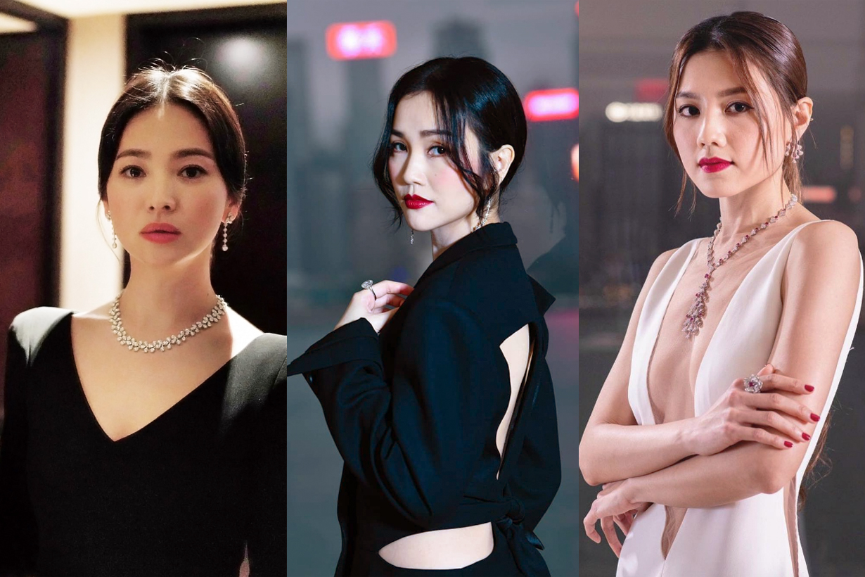 2019 Hong Kong Film Awards Red Carpets Celebrities Makeup Beauty looks Jennifer Yu Angela Yuen Cecilia So Charlene Choi Yeung Chin Wah Fiona Sit Song Hye Kyo Chrissy Chow Zeng Mei Hui Zi Janice Man