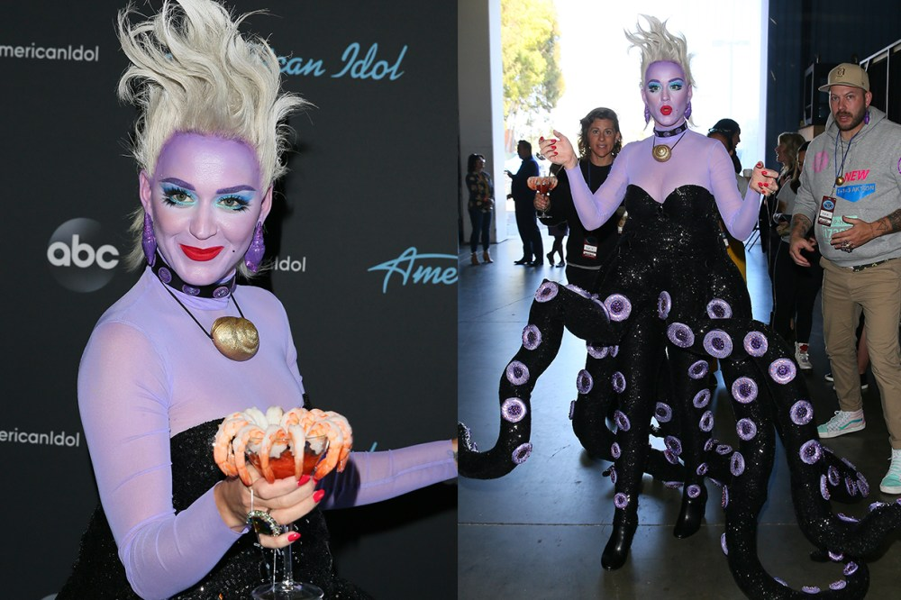 Katy Perry to play Ursula from The Little Mermaid for American Idol's Disney night