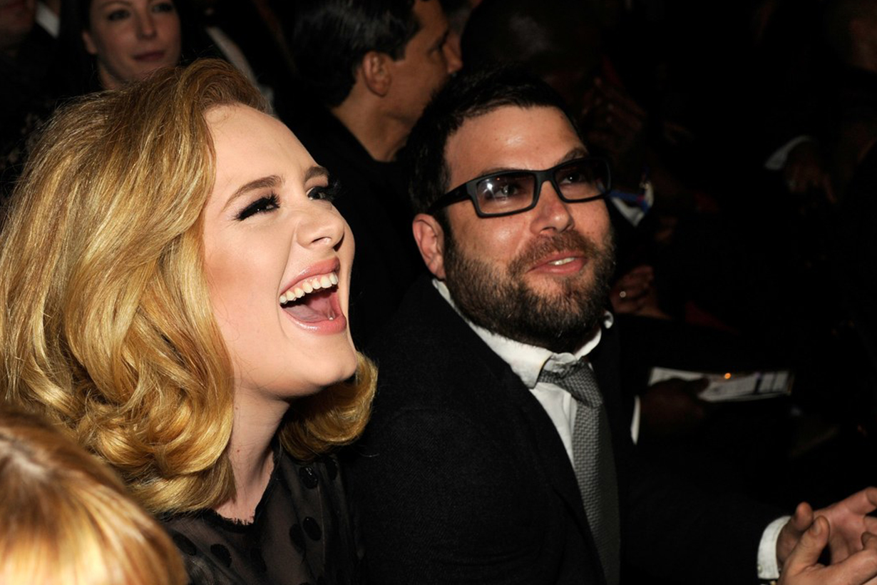 Adele Adele Laurie Blue Adkins Simon Konecki Divorce Benny Tarantini Carl Fysh  Associated Press Grammys