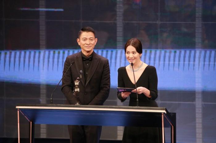 頒獎前劉德華對宋慧喬做的第一件事:儘管只是小舉動,但卻讓女生們都覺得暖心!