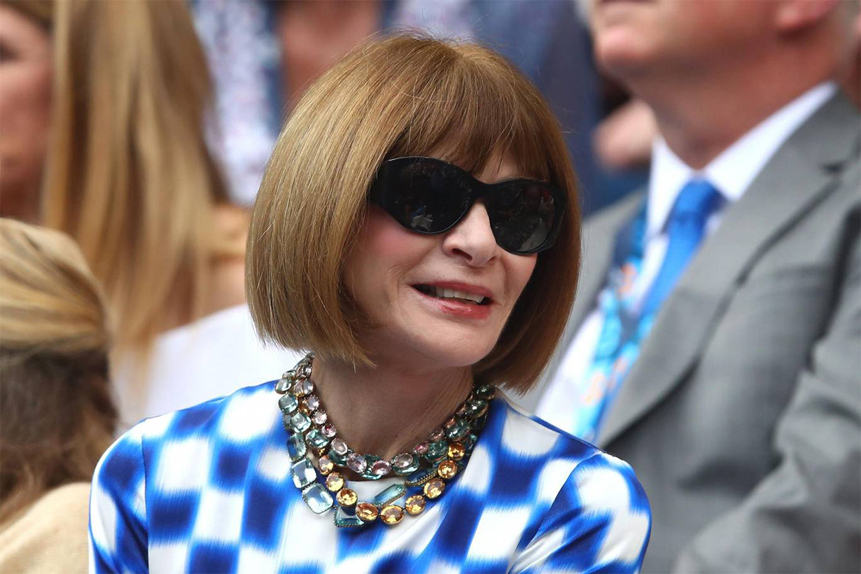 Anna Wintour Says to Skip All Black Outfits