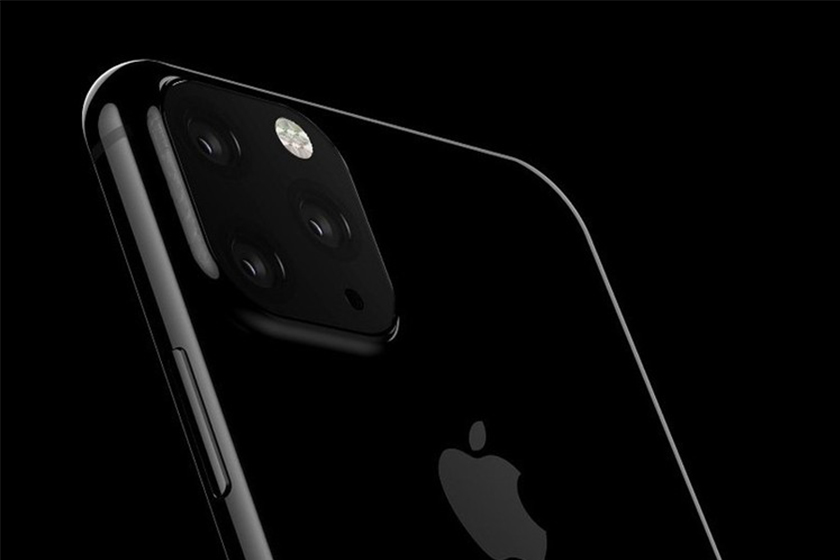 apple iphone xi and xi max molds show triple camera layout