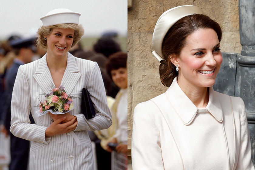 Lady Diana and Kate Middleton favorite handbag Tod's d-bag