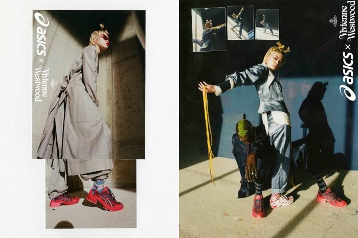 Vivienne Westwood x ASICS 合作波鞋正式公開,開賣日期、售價全出爐!