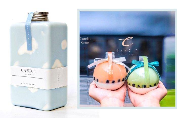 喝珍奶的另一檔次!高質感瓶子絕對是打卡「小良伴」