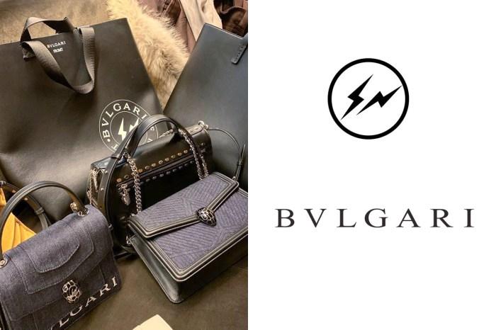 從沒想過的組合竟聯名了:「BVLGARI x 藤原浩」多款手袋一次公開!