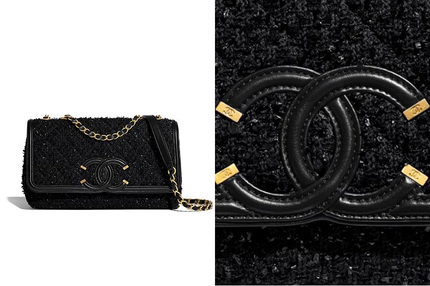 Chanel-CC-Filigree-flap-bag-black