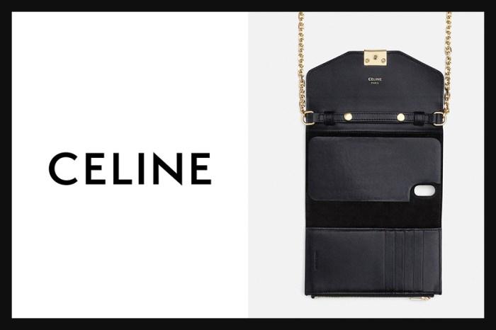 設計超貼心:Celine 新推鏈帶 iPhone Clutch,就直接把它當錢包用吧!