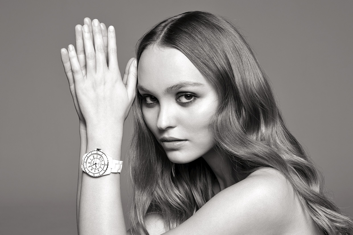 Lily-Rose Depp and Liu Wen with Chanel J12 Watch
