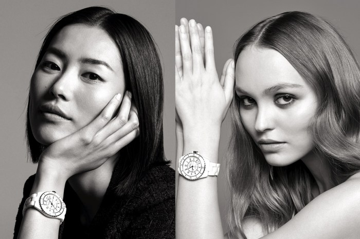 Chanel 時計之美學! Lily-Rose Depp 與劉雯為 J12 腕錶擔任廣告女郎