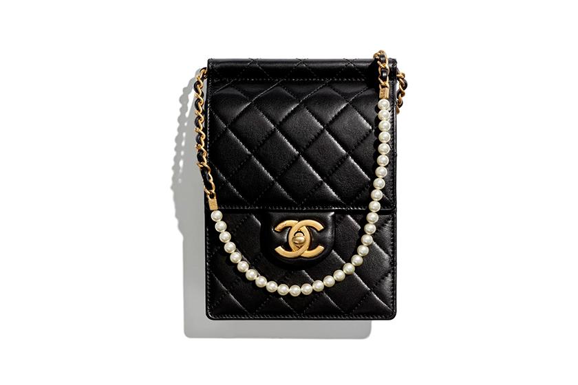 chanel classic handbags pearl