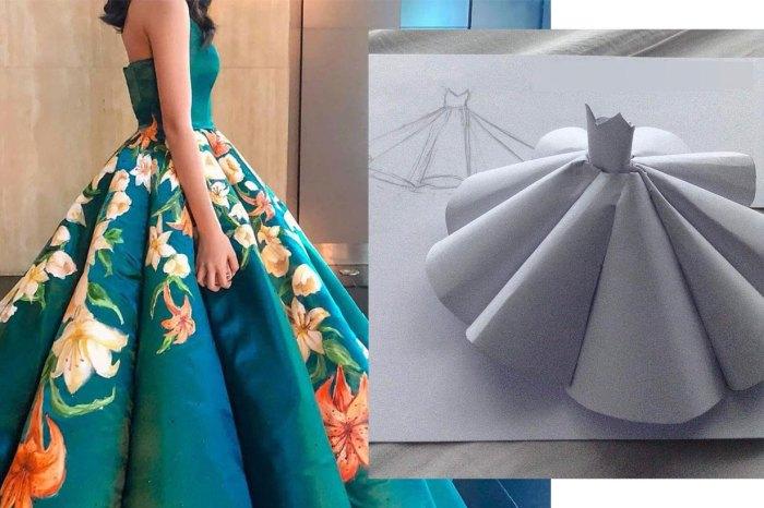 17 歲女生自製畢業舞裙,「完成度」媲美大品牌因而爆紅