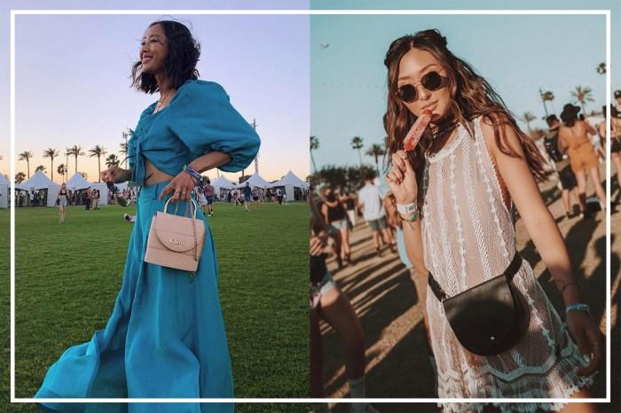 IG 紅人不約而同地配搭這手袋出席 Coachella!曝光率最高的 3 個款式絕對是今季潮流必備