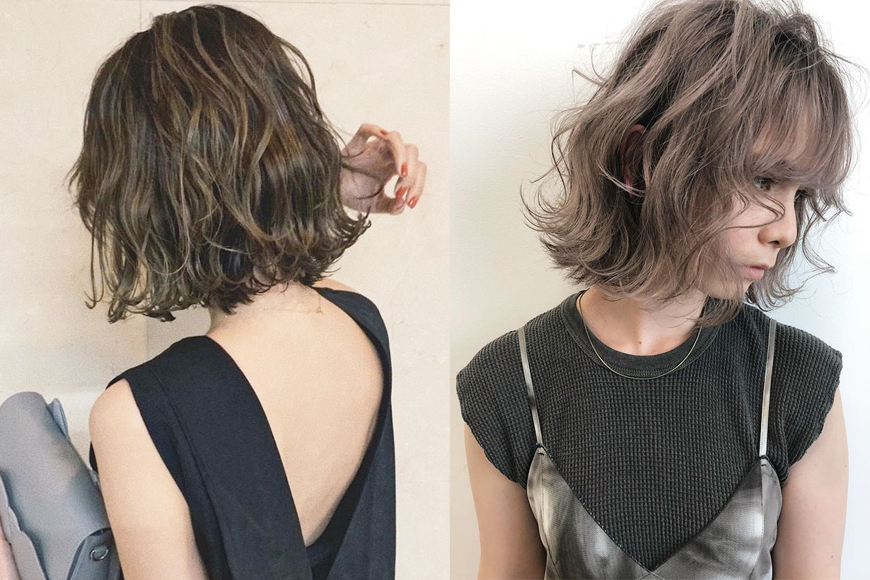 short curly hairstyle 2019