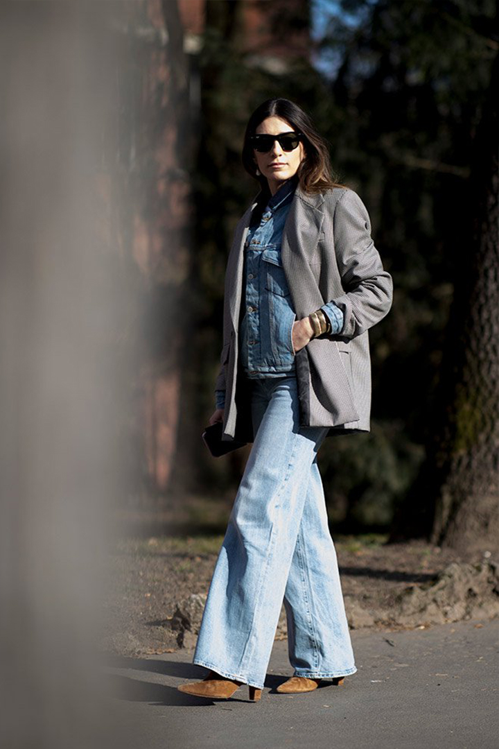 How to Wear Denim to Work