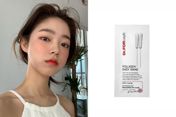 懶人救星:韓國女生激推這款「除臭棉花棒」,只要 3 秒就能解決頭皮出油與異味!