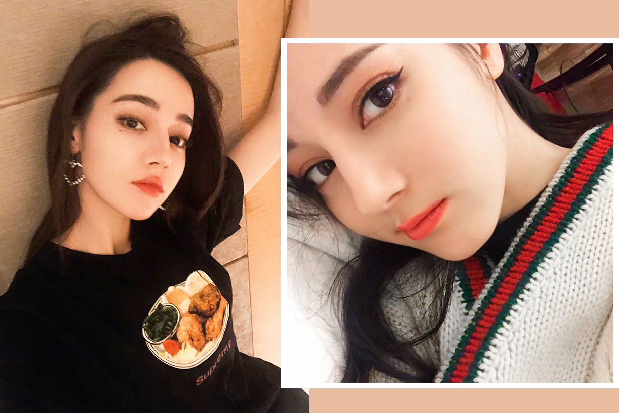 Dilraba Dilmurat Dilreba Dilmurat Dilireba Elle China Elle idol Bob Hair short hair celebrities hairstyles chinese actresses