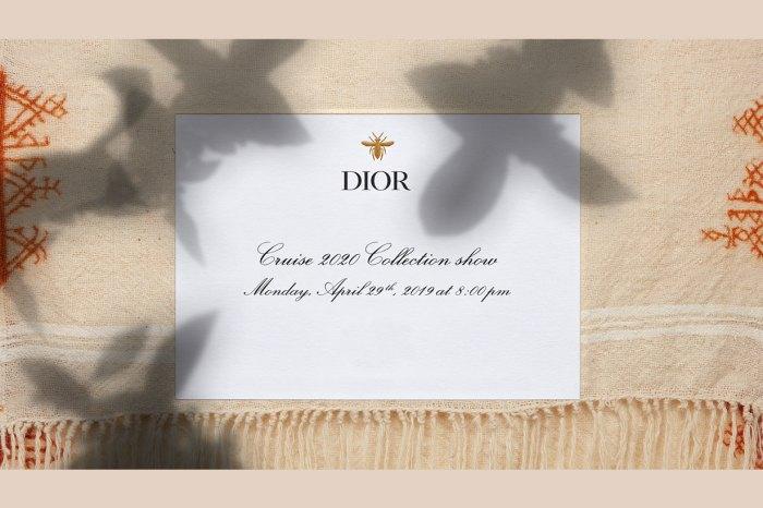 同步直播!Dior 將於摩洛哥舉行全新度假系列時裝秀