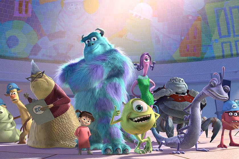 Disney MONSTERS INC Series MONSTERS AT WORK