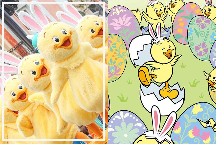 Disney tokyo new character Usapiyo chick with bunny ears